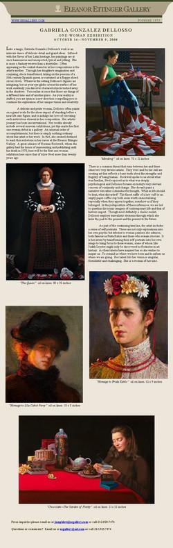 Eleanor Ettinger Gallery intro
