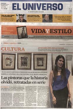 """El Universo""Feature Article"