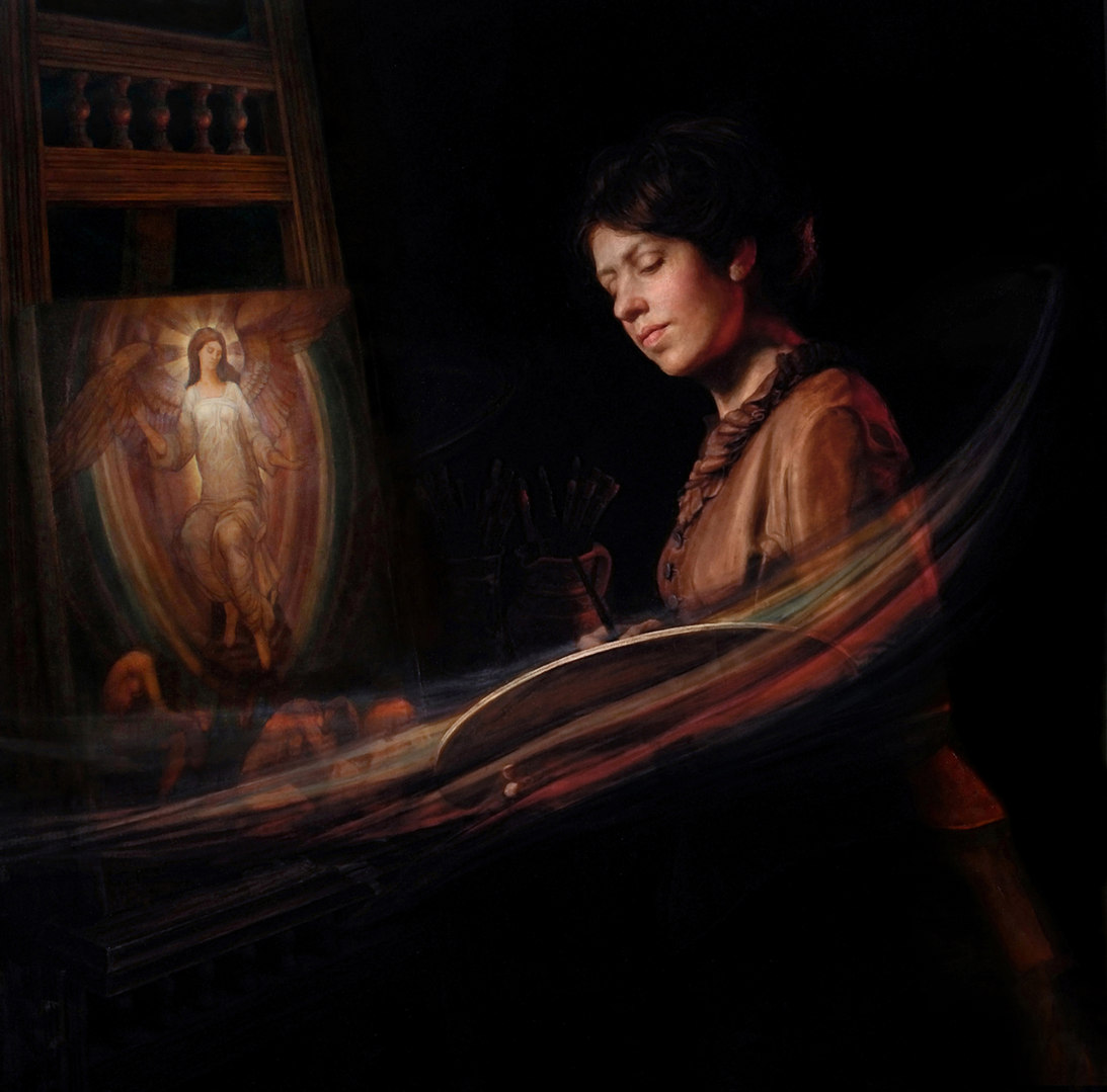 Homage to Evelyn De Morgan