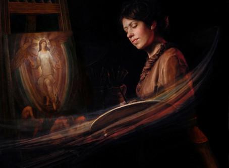 """The De Morgan Foundation features """"Homage to Evelyn De Morgan on their website blog!"""
