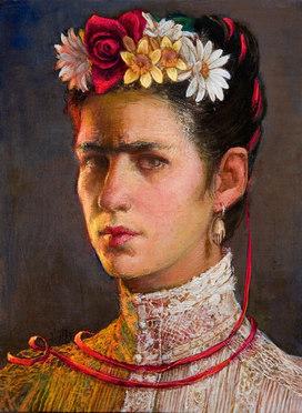 """""""Self-Portrait Homage To Frida Kahlo"""""""