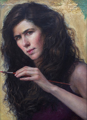 """""""Self-Portrait Painting And Poetry"""""""
