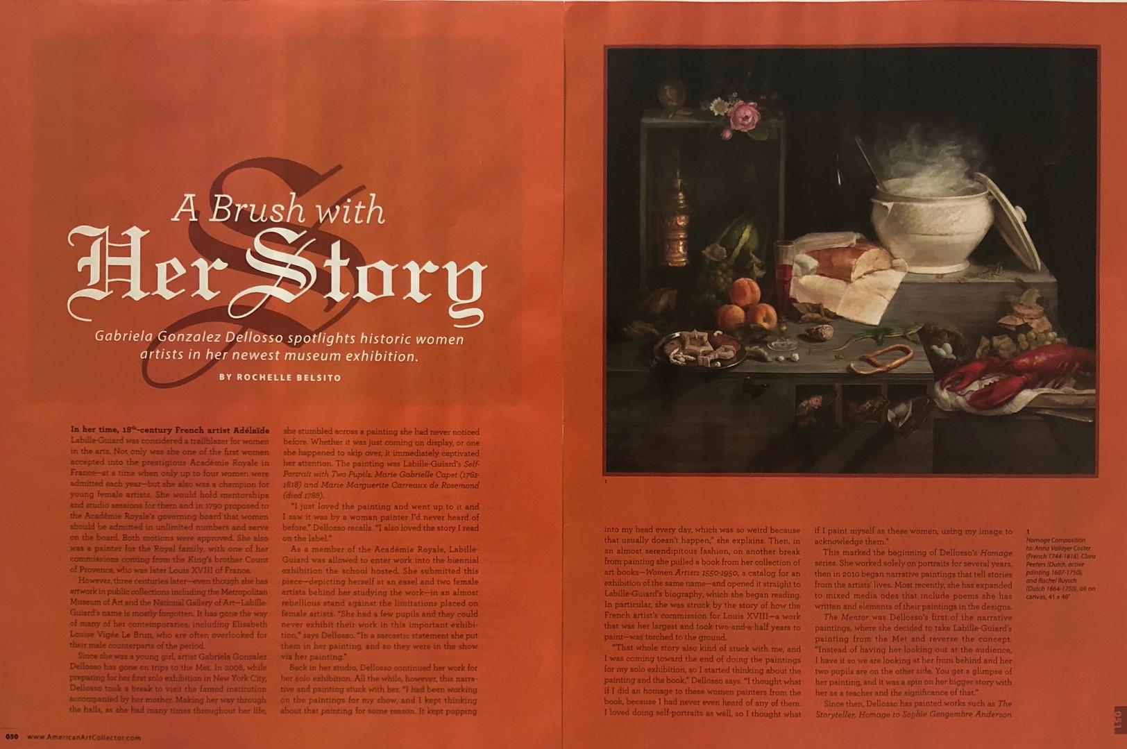 American Art Collector Magazine