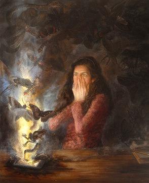"""Pandora's Box: Homage to Maria Sibylla Merian"""