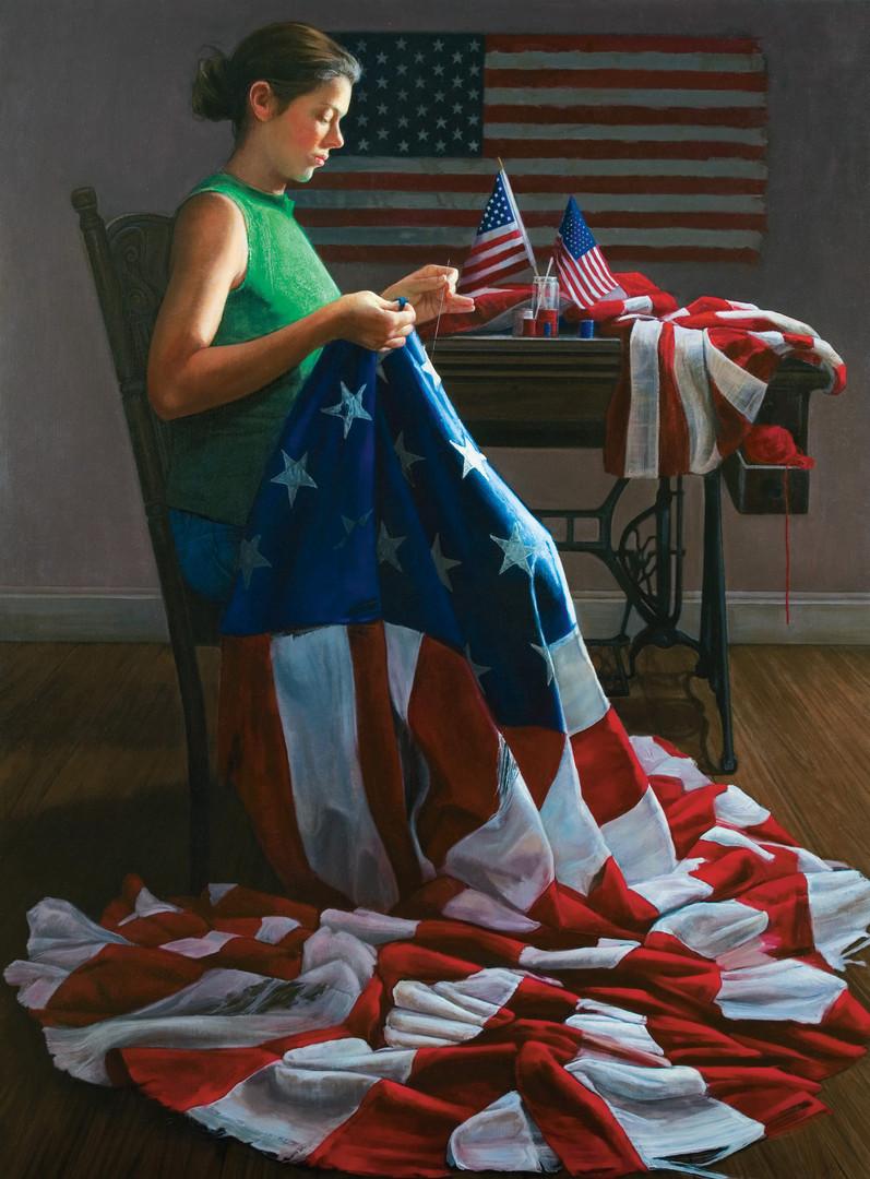 """""""Mending The Flag"""""""