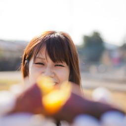 ポートレート提供作品:畑と焼き芋