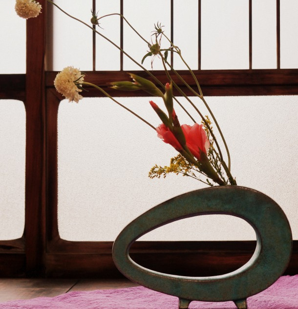 ウェブ用撮影:花瓶仕込み