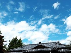 o021/母屋/夏の屋根