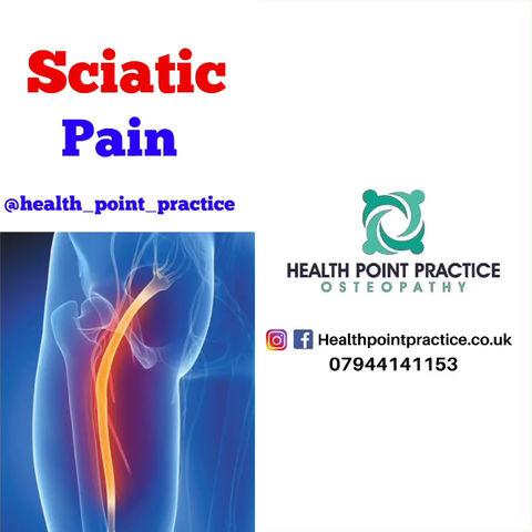 Sciatic Nerve Pain!