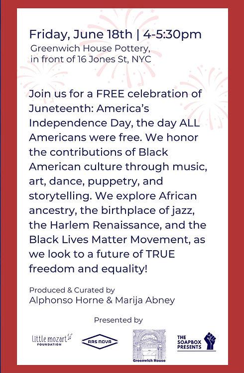 Juneteenth Jubilee: America's Independen