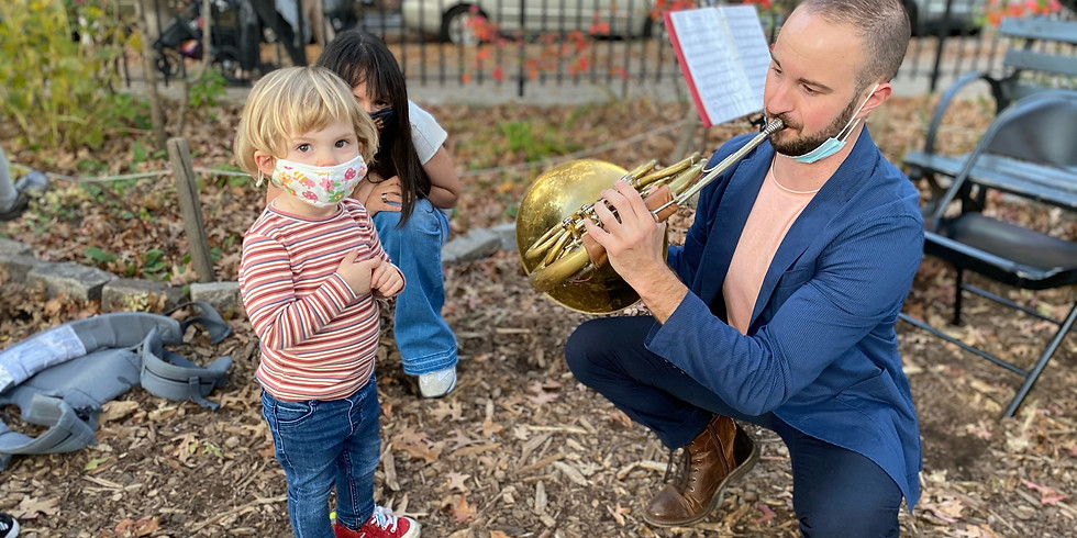 Mozart for Munchkins: Washington Square Park