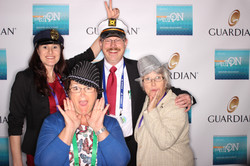 Open air photo booth rentals