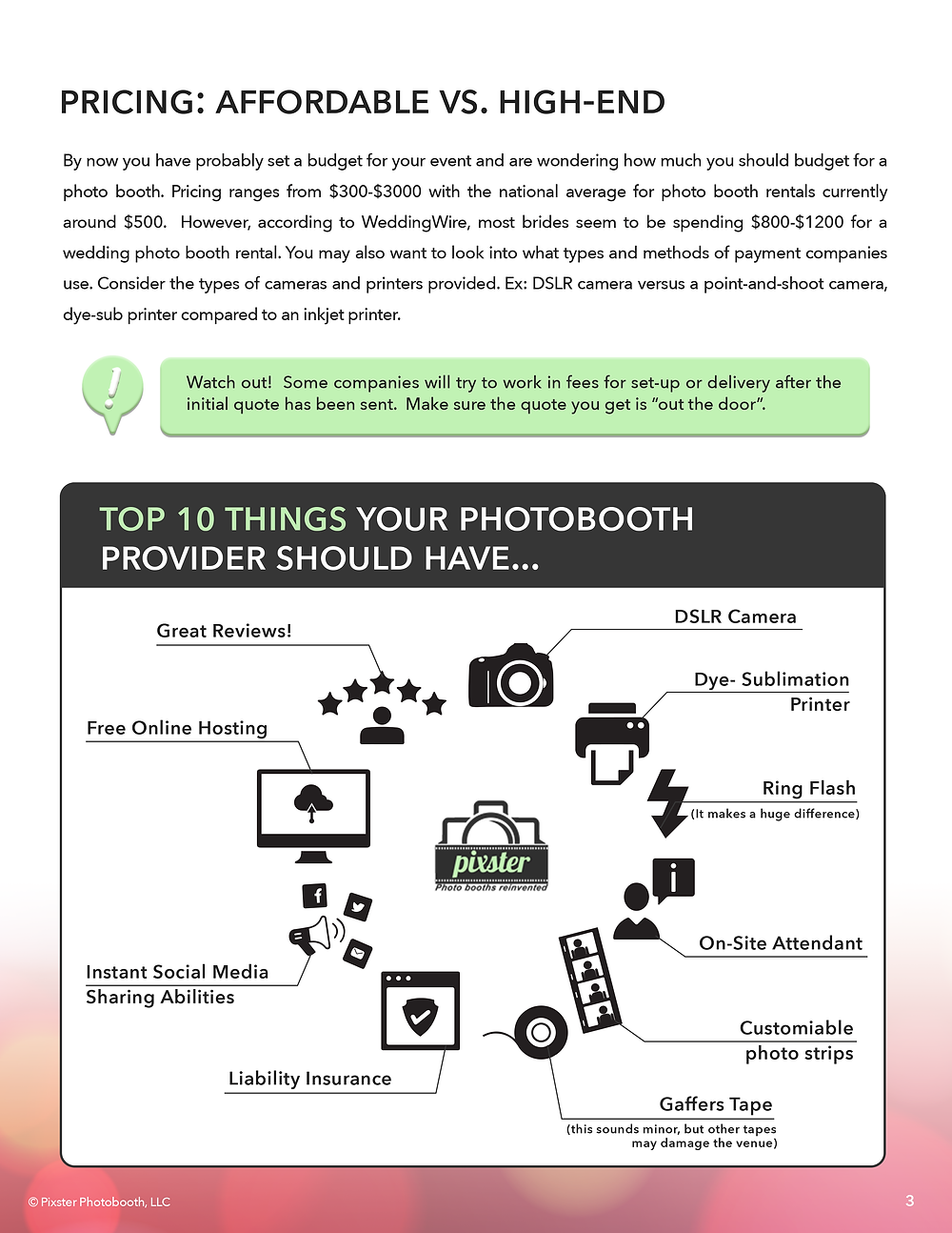Photo booth renter guide
