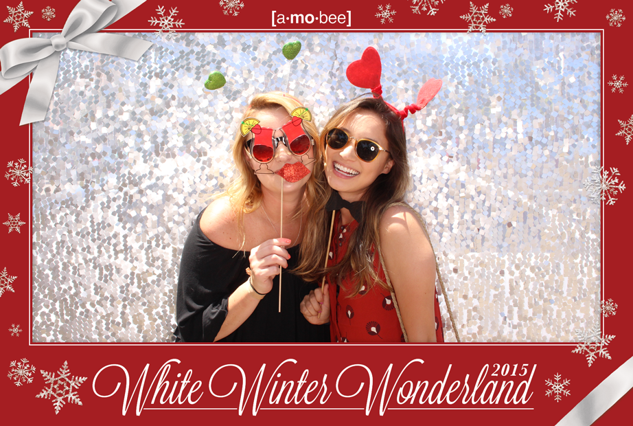 Amobee Holiday Promo Event Watermark