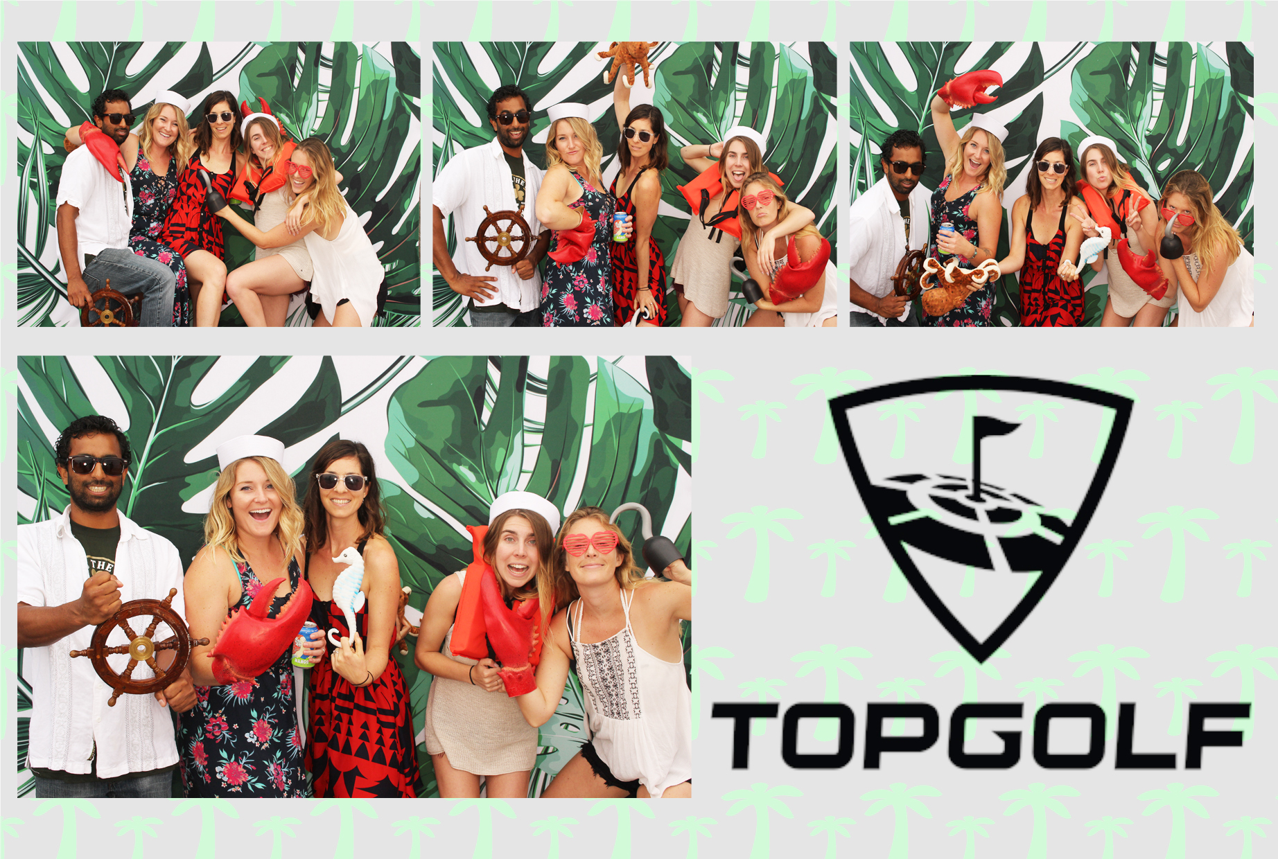 Top Golf Photo Booth