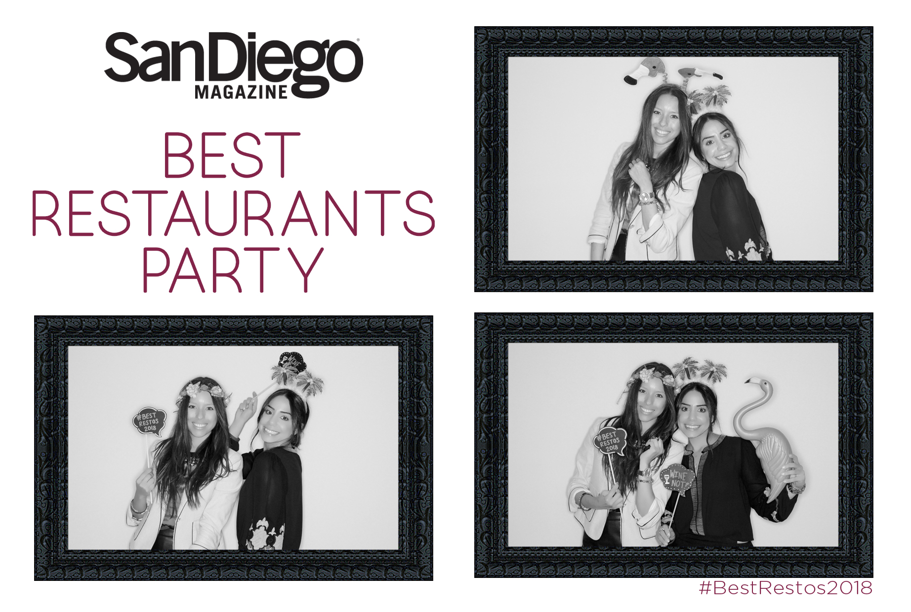 San Diego Magazine Photo Booth