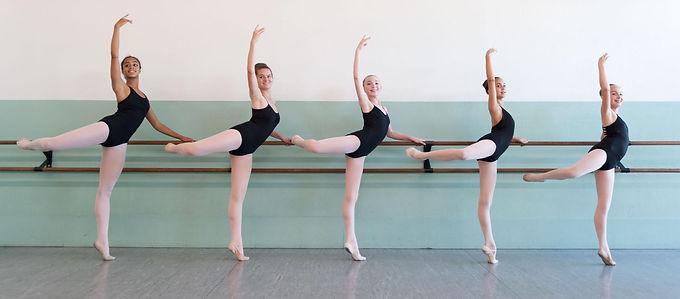 Antelope Valley Ballet training