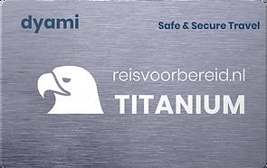 dyami titanium abonnement kaart