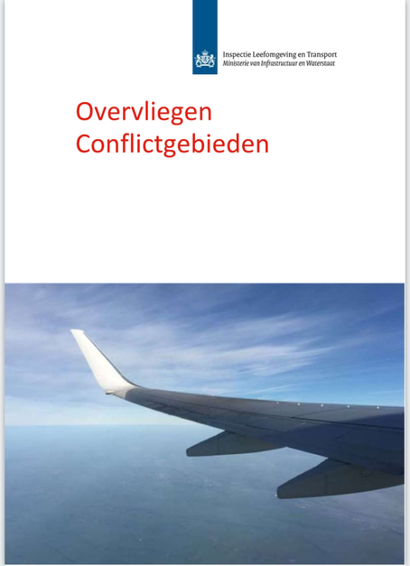 Report flying over Conflict Areas