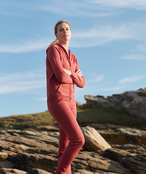 Jogging pants in 100% Merino wool