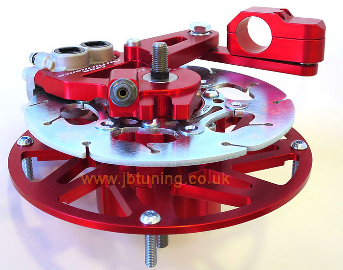 NEW! COMPLETE Casa Performance hydraulic front brake kit (RED version)