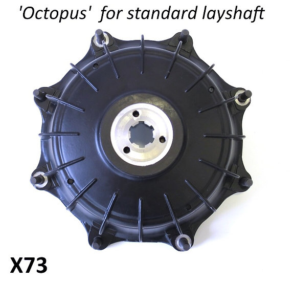 Casa Performance Octopus 8 stub rear hub. Standard layshaft type x73