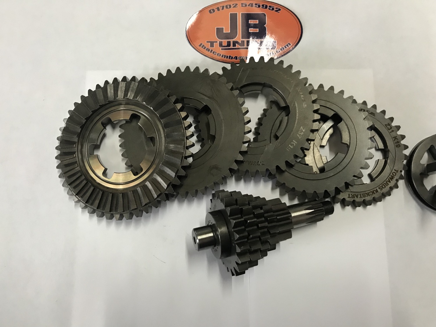 X808 Vega 5 Speed gearbox the ultimate for your tuned Luna line J Range