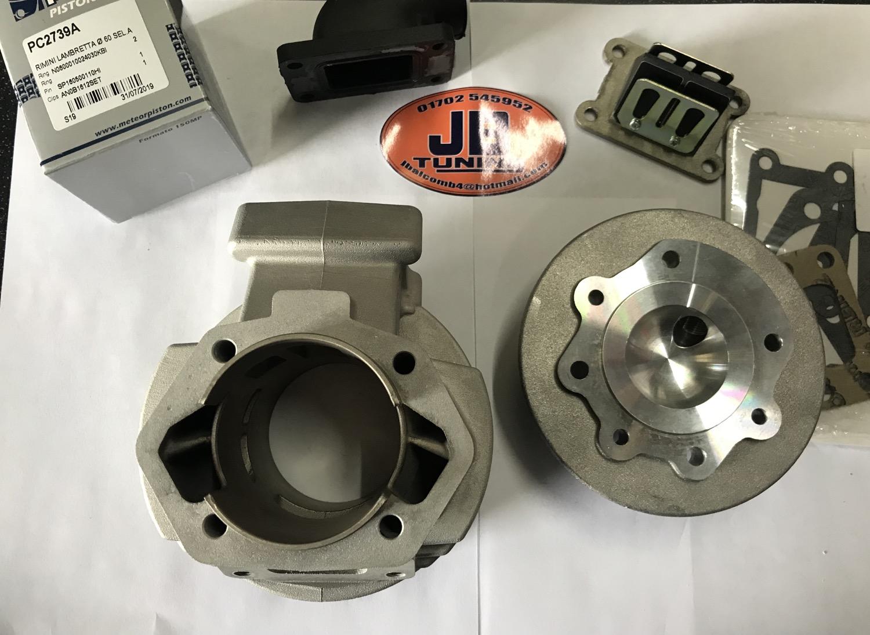 X807 Vega Luna J Range 135 reed valve kit complete