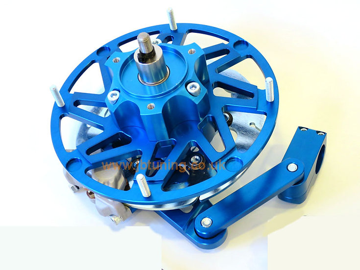 NEW! COMPLETE Casa Performance hydraulic front brake kit (BLUE version)