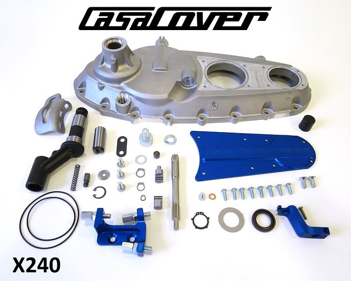 CasaCover (silver) complete engine side casing.
