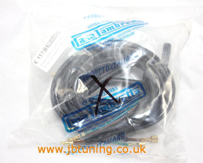 Casa Lambretta 12v Electronic Wiring Loom (Black)