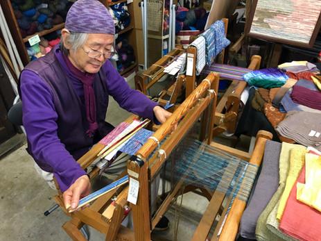 Mr Tajima weaving circ stall