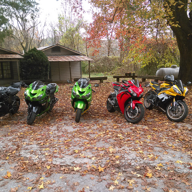 Riding With The Crew