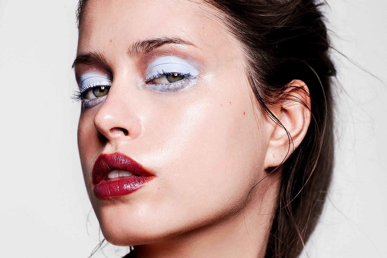 PeterFedrizzi-AgataPorszke-makeup-beauty