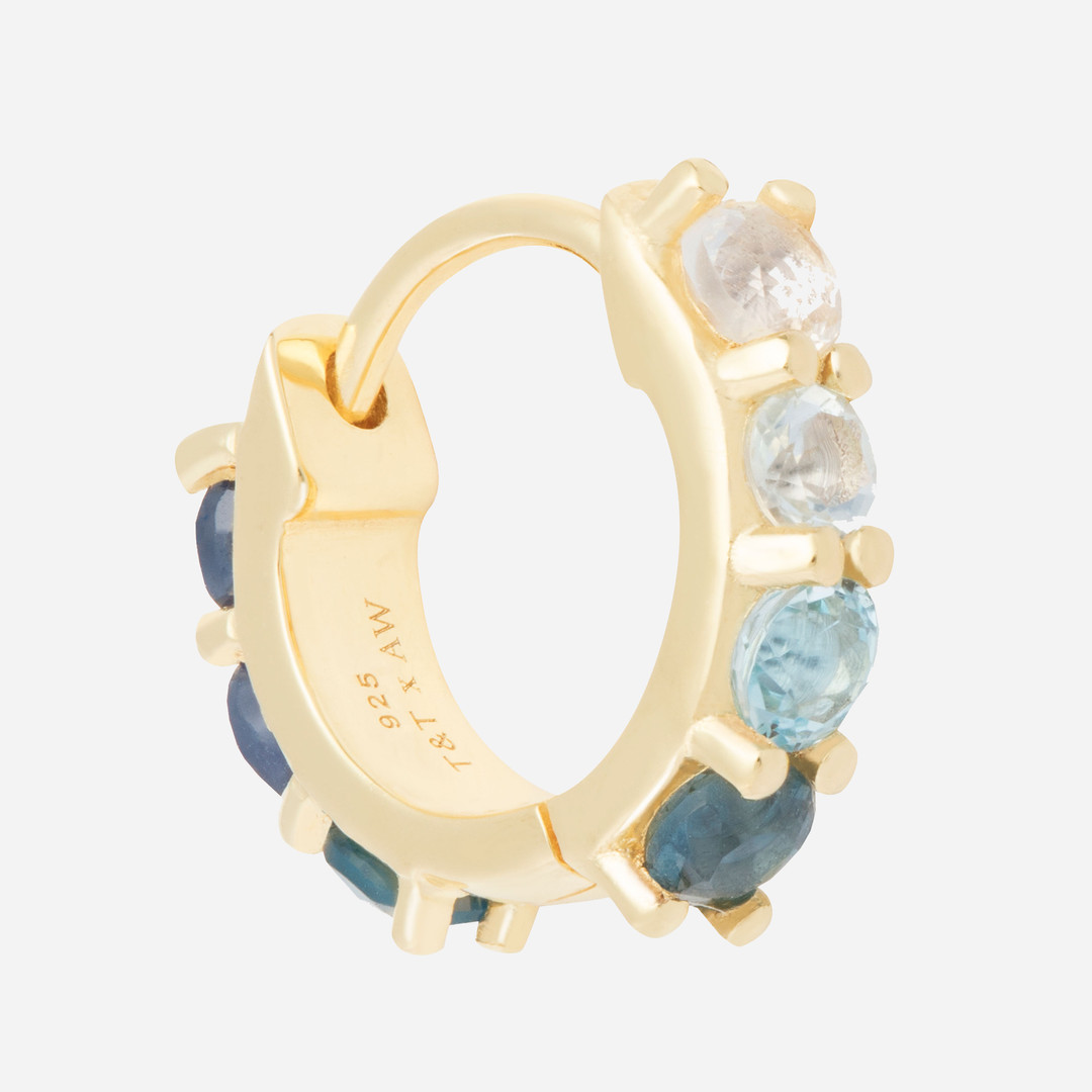 tada&toy-gold-hoop-earrings-blue-stones.