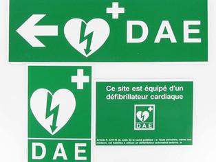 Formation à l'utilisation du défibrillateur