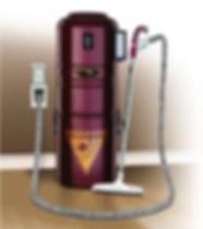 Modèle daspirateur centralisé Cyclo Vac