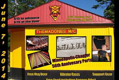THEMADONES MC - Clubhouse
