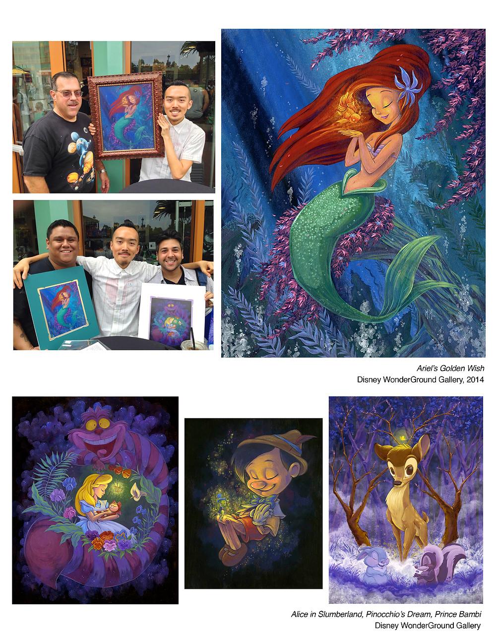 Ariel's Golden Wish & Alice in Slumberland, Pinocchio's Dream, Prince Bambi