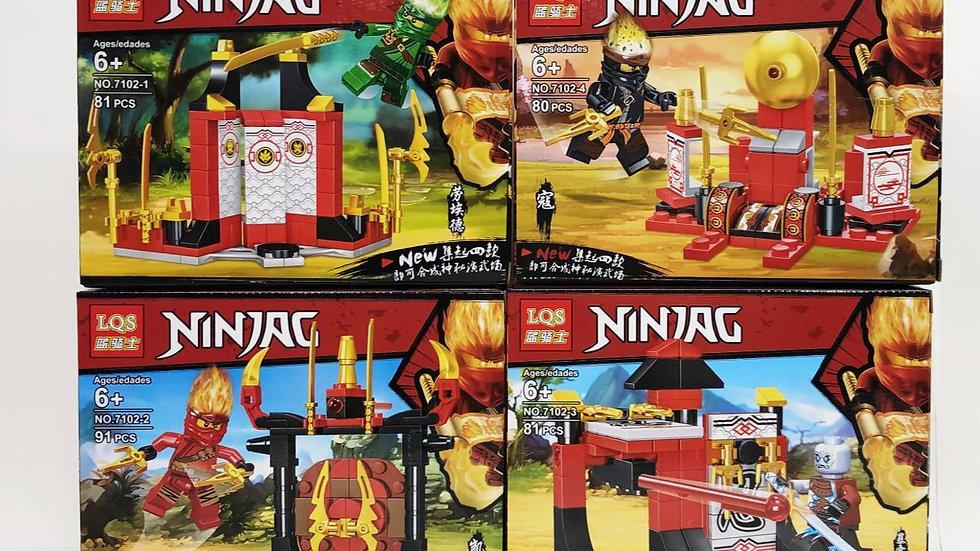 Конструктор Ninjag