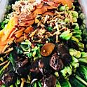 Thai Baby Kai Lan, Sauteed Mushrooms & Garlic