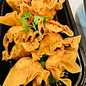 Seafood Mousse Crispy Pomegranate, Thai Sweet Chilli Dip (40 pcs)