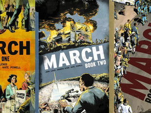 March - Graphic Novels by John Lewis, Andrew Aydin and Nate Powell