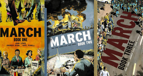 Image result for march graphic novel series