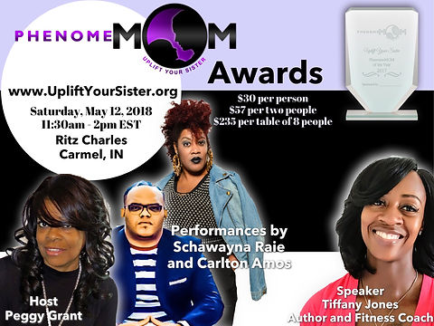 PhenomeMOM Awards Flyer 2018