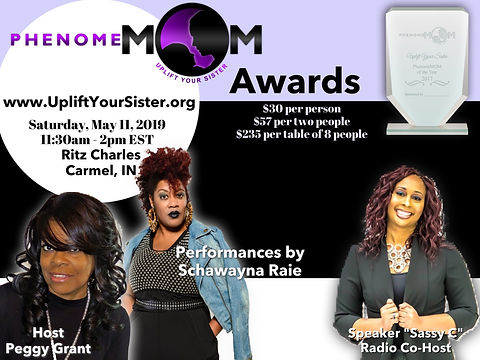 PhenomeMOM Awards Flyer 2019