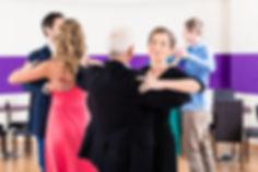 ballroom group class
