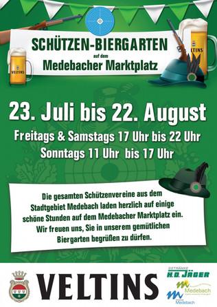 Schützen-Biergarten