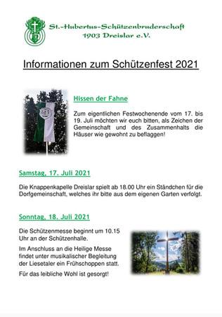 """""""Schützenfest 2021"""""""