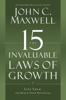 The 15 Invaluable Laws of Growth is one of Dustin's Online Leadership Classes